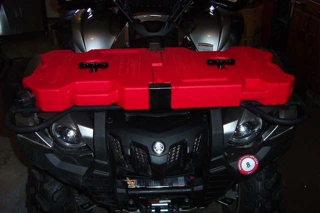 Fuel Pack front placement