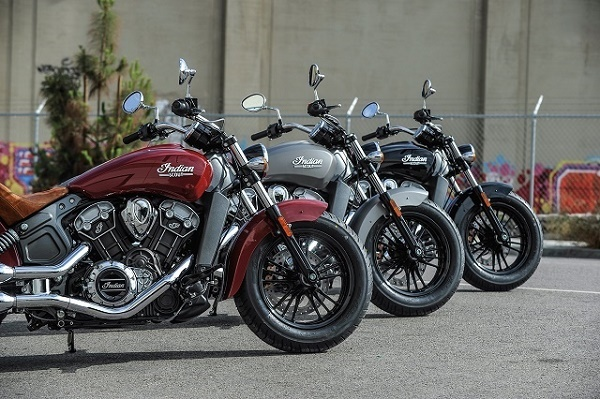Indian Scout 2015 Model Showroom