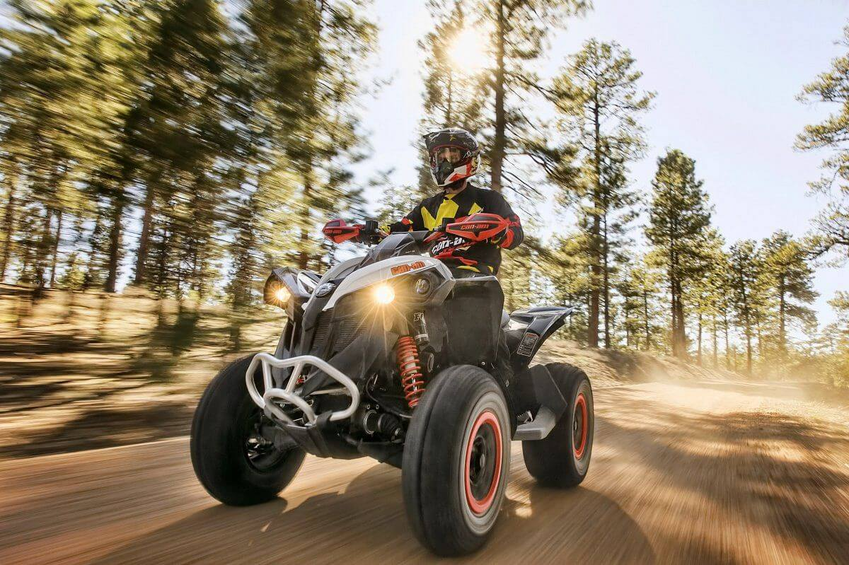 Review Can-Am Renegade X XC 650 T3B ABS 2018 - can am