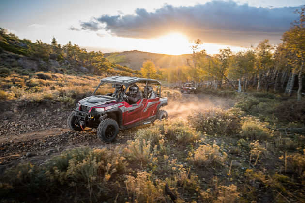 Review 2018 Polaris General 4 1000 EPS Ride Command Edition - polaris general 4 1000 eps ride command