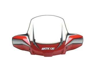 ARCTIC CAT RED-STD MASCA CU PARBRIZ