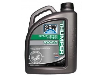 BEL-RAY WORKS THUMPER RACING SYNTHETIC ESTER 4T 10W50 4L