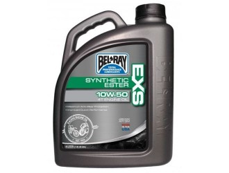 BEL-RAY EXS FULL SYNTHETIC ESTER 4T 10W50 4L