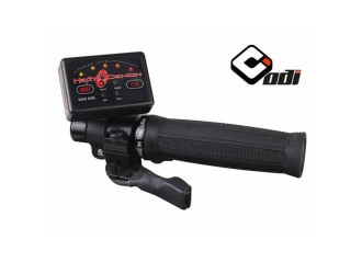 Symtec ATV Heated Grip Kit, Quad Zone, Clamp on Grip