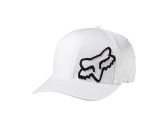 FOX  Flex 45 Flexfit Hat -58379-008 White