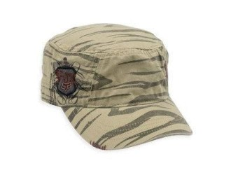FOX  Zeebrah Military Cap -58405 Dark Khaki