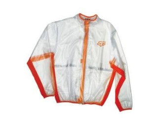FOX  MX Fluid Jacket -10033 Clear-Orange