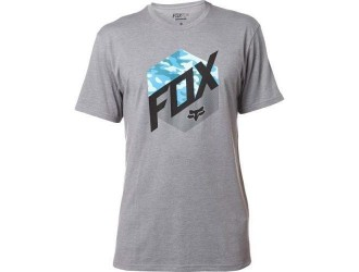 FOX  KASTED SS TEE -19276-185 Heather Graphite