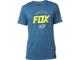 FOX  LOOPED OUT SS TEE -19277-492 Blue