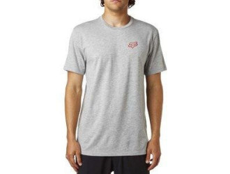 FOX  OBSERVED SS PREMIUM TEE -18831-040 Heather Grey