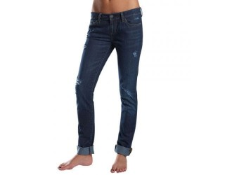 FOX  Boyfriend Destroyed Jean -50549 Dark Vintage
