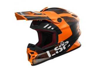 LS2 MX456 Light Rallie Orange Black