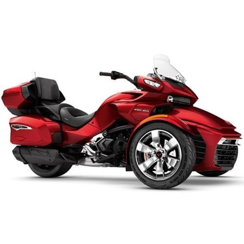 SPYDER Can-Am Spyder F3 Limited SE6 Intense Red Pearl '18