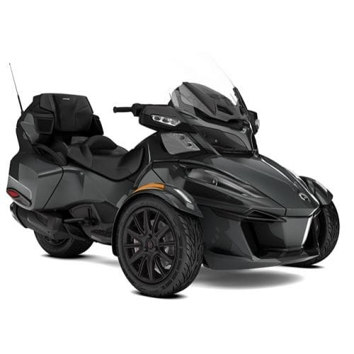 SPYDER Can-Am Spyder RT Limited SE6 Asphalt Grey Metallic '18