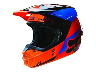 FOX  MX-HELMET V1 MAKO HELMET ECE ORANGE