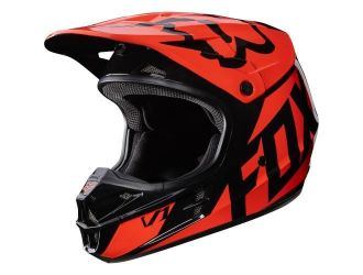 FOX  MX-HELMET V1 RACE HELMET ECE ORANGE