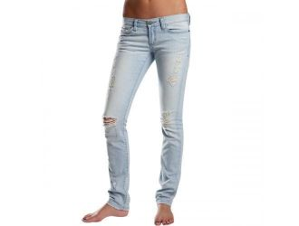 FOX  G-V-DENIM JET DESTROYED JEAN BLEACH WASH