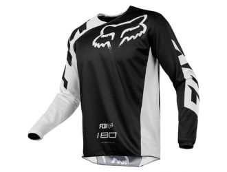 FOX  180 RACE JERSEY [BLK]