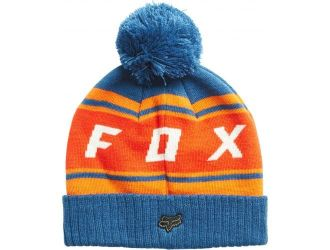 FOX  BLACK DIAMOND POM BEANIE [DST BLU]