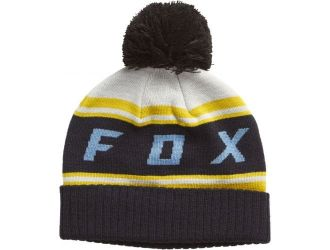FOX  BLACK DIAMOND POM BEANIE [LT GRY]