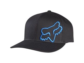 FOX  FLEX 45 FLEXFIT HAT [BLK/BLU]