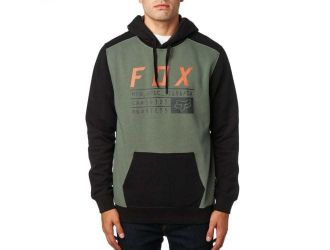 FOX  DISTRICT 3 PULLOVER FLEECE [DRK FAT]