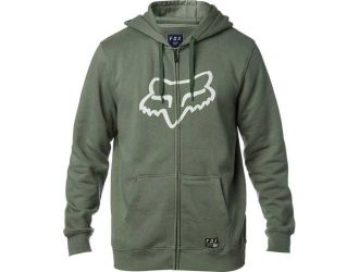 FOX  DISTRICT 3 ZIP FLEECE [DRK FAT]