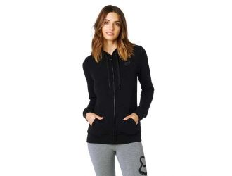 FOX  AFFIRMED ZIP FLEECE [BLK]