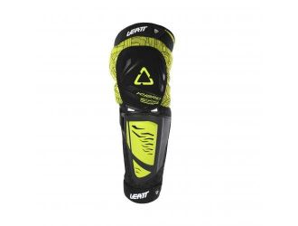 Leatt  KNEE &SHIN GUARD 3DF HYBRID EXT BLACK/LIME