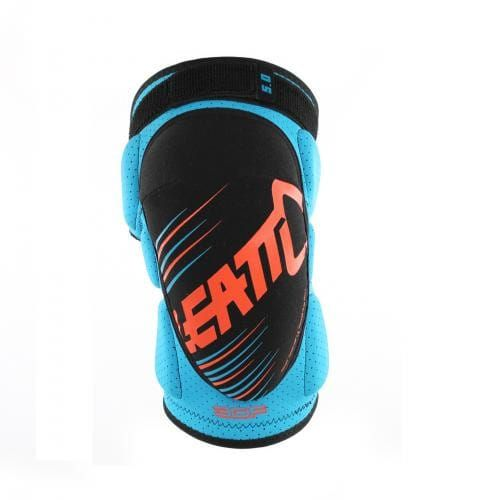 Genunchiere Leatt  KNEE GUARD 3DF 5.0 BLUE/ORANGE