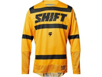 Shift  3LACK STRIKE JERSEY YELLOW