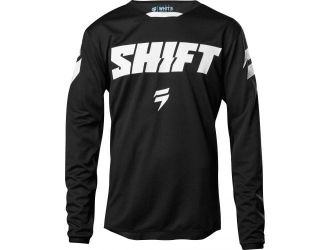 Shift  WHIT3 NINETY SEVEN JERSEY BLACK