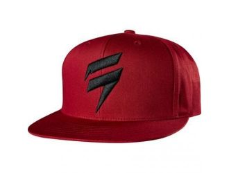 Shift  CORP HAT SNAPBACK [DRK RD]