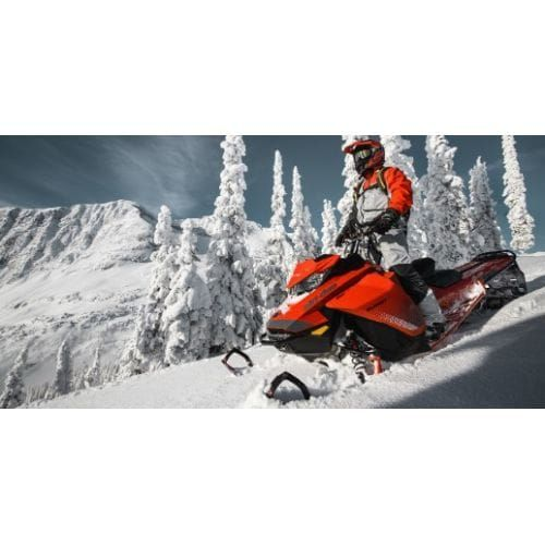 Ski-Doo Summit X 154 850 E-TEC ICE Red Dshot-Manual '19