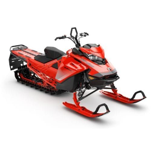 SNOWMOBILE Ski-Doo Summit X 154 850 E-TEC ICE Red Dshot-Manual '19