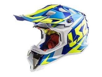 LS2 MX470 SUBVERTER NIMBLE White Blue H-V Yellow