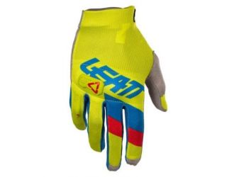 Leatt  GLOVE GPX 3.5 LITE LIME/BLU