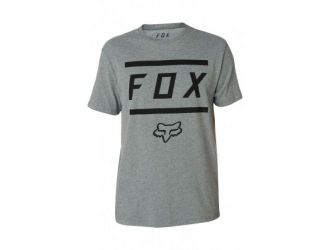FOX  LISTLESS AIRLINE SS TEE [HTR DRK GRY]