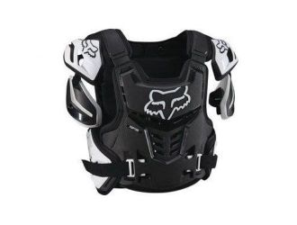 FOX RAPTOR VEST CE BLACK/WHITE