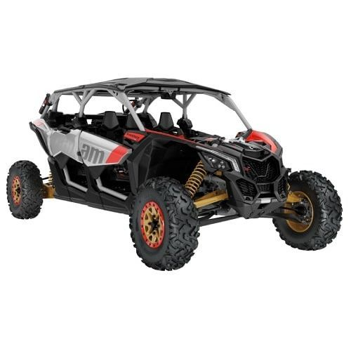 UTV Can-Am Maverick MAX X rs Turbo R Silver-Gold-Red '19