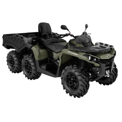 ATV 6x6 Can-Am Outlander MAX 6x6 PRO+ 650 T '19