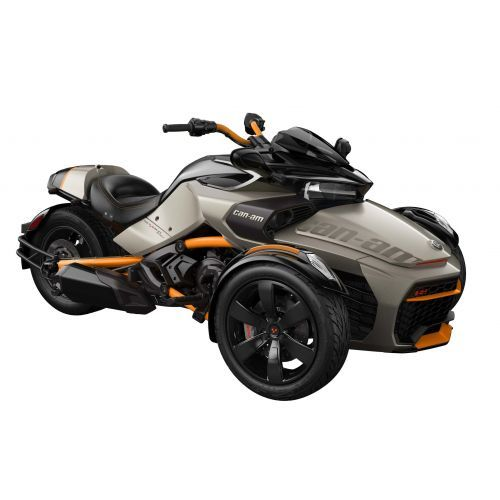 SPYDER Can-Am Spyder F3-S SE6 Liquid Titanium '19