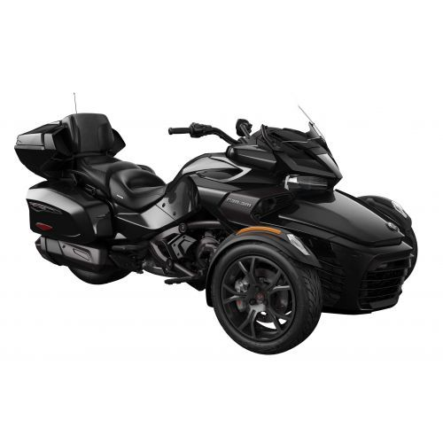 SPYDER Can-Am Spyder F3 Limited SE6 Steel Black Metallic Dark '19