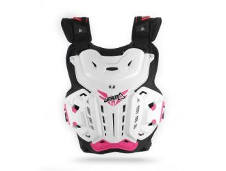 Leatt CHEST PROTECTOR 4.5 JACKY WHT/PINK