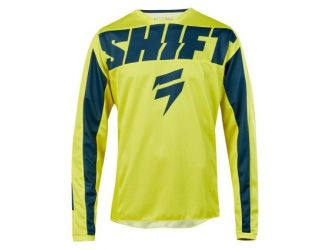 Shift WHIT3 YORK JERSEY [YLW/NVY]