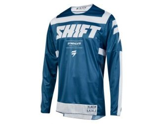 Shift 3LACK STRIKE JERSEY [BLU]