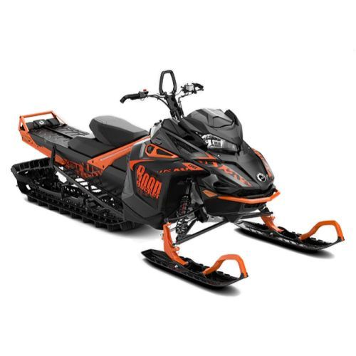 SNOWMOBILE Lynx BoonDocker DS 3900 850 E-TEC Black Edition SHOT '19