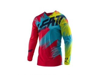 Leatt JERSEY GPX 4.5 LITE  RED/LIME