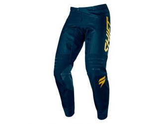 Shift 3LACK LABEL NAVY/GOLD PANT [NVY/GLD]