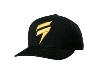 Shift NAVY GOLD CORP SNAPBACK [BLK]